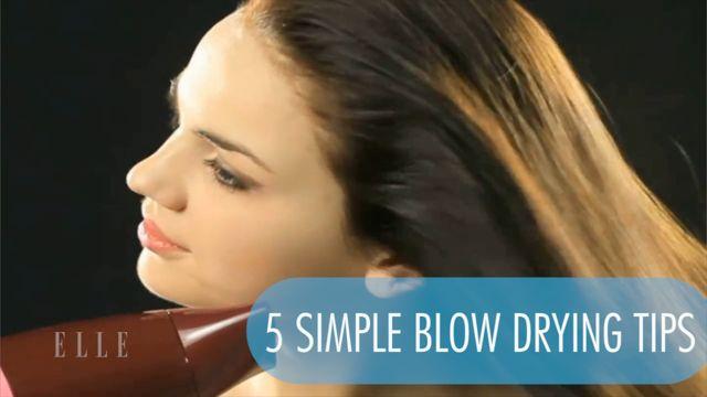 Blow Drying Natural Hair Weekly