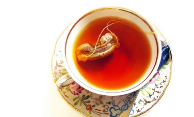 Hot tea for beautiful skin