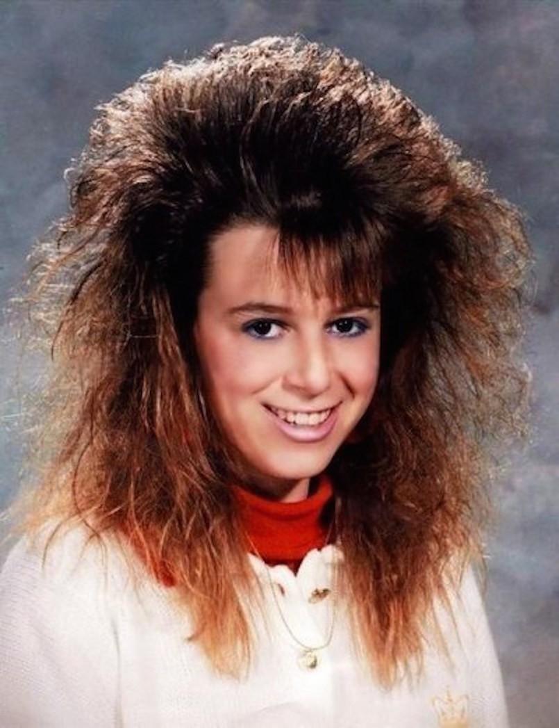 Женские причёски 90-х
