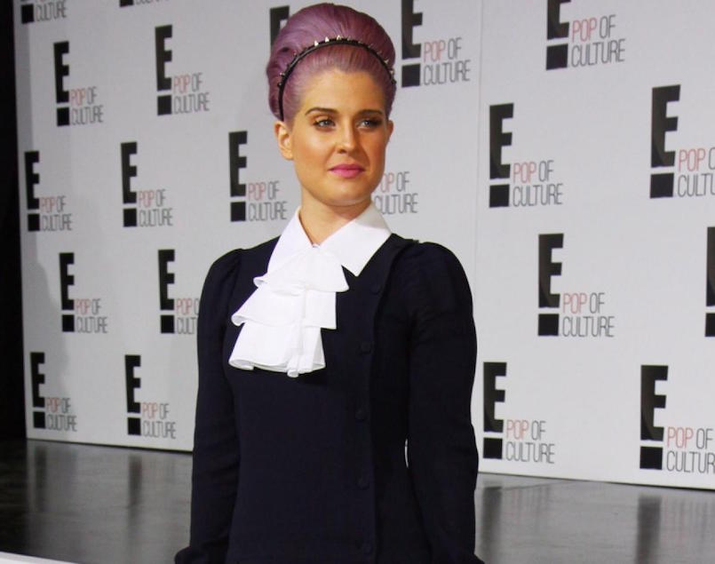 Kelly Osbourne makeup mishap