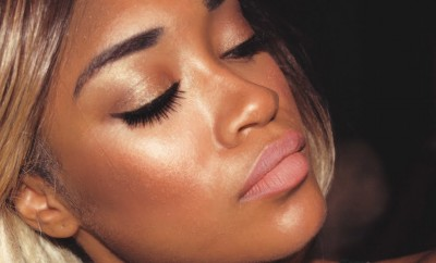 dewy makeup dark skin