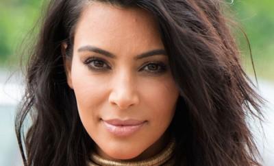 Kim Kardashian smokey eye makeup