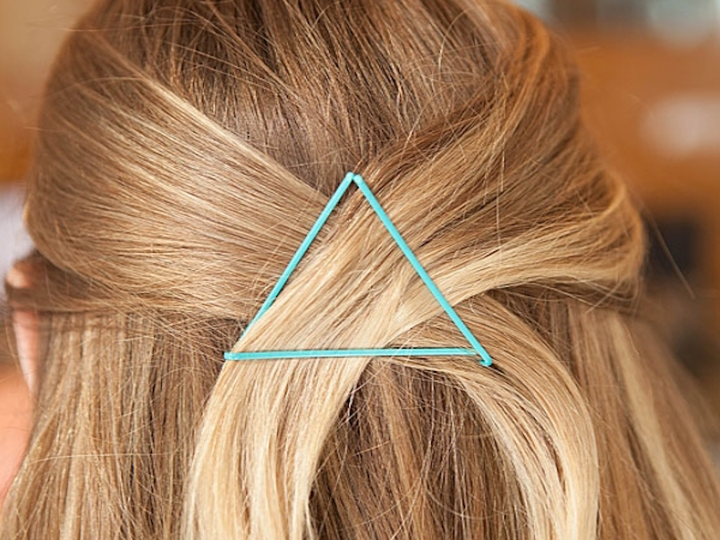 Quick Bobby Pin Hair Hack