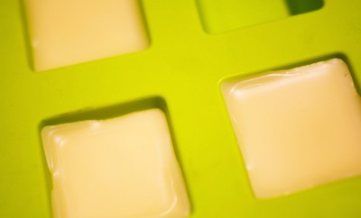 DIY moisturizing body butter bar