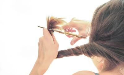 ends of hair scissors