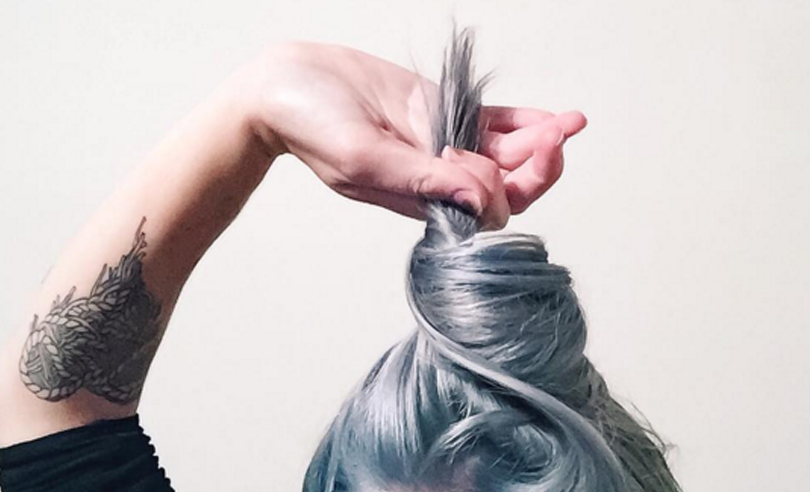 WTF is the denim hair trend?