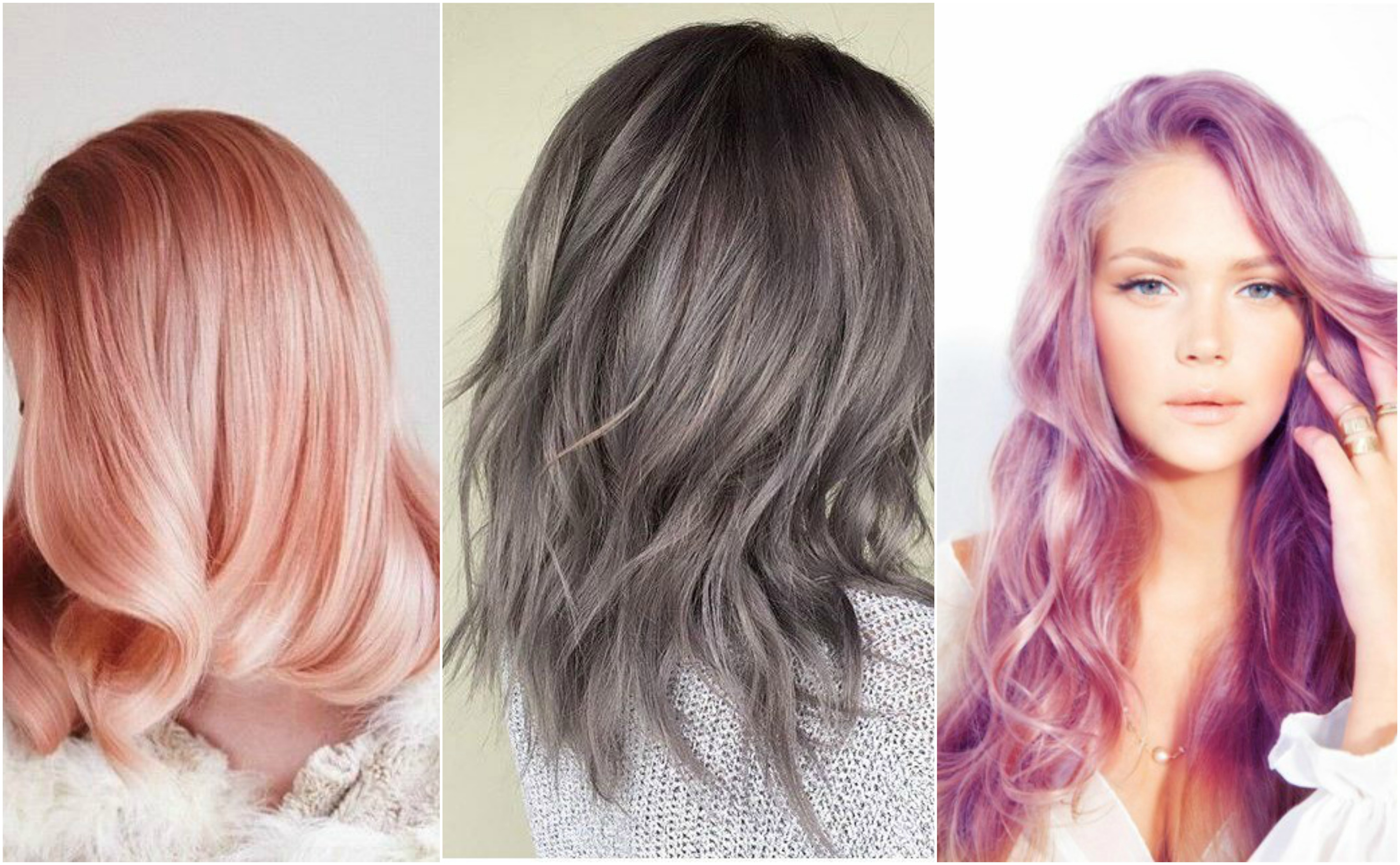 Everything you need to know about the metallic hair trend