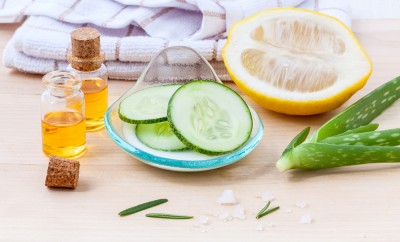 Natural Spa Ingredients cucumber homemade natural facial toner