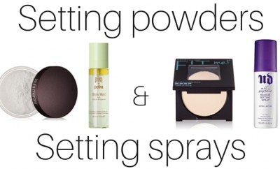 Setting powders