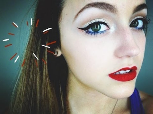 4th of July makeup tricks anyone can pull off