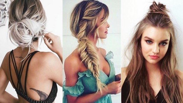Monday motivation: 3 hairstyles that take less than 3 minutes