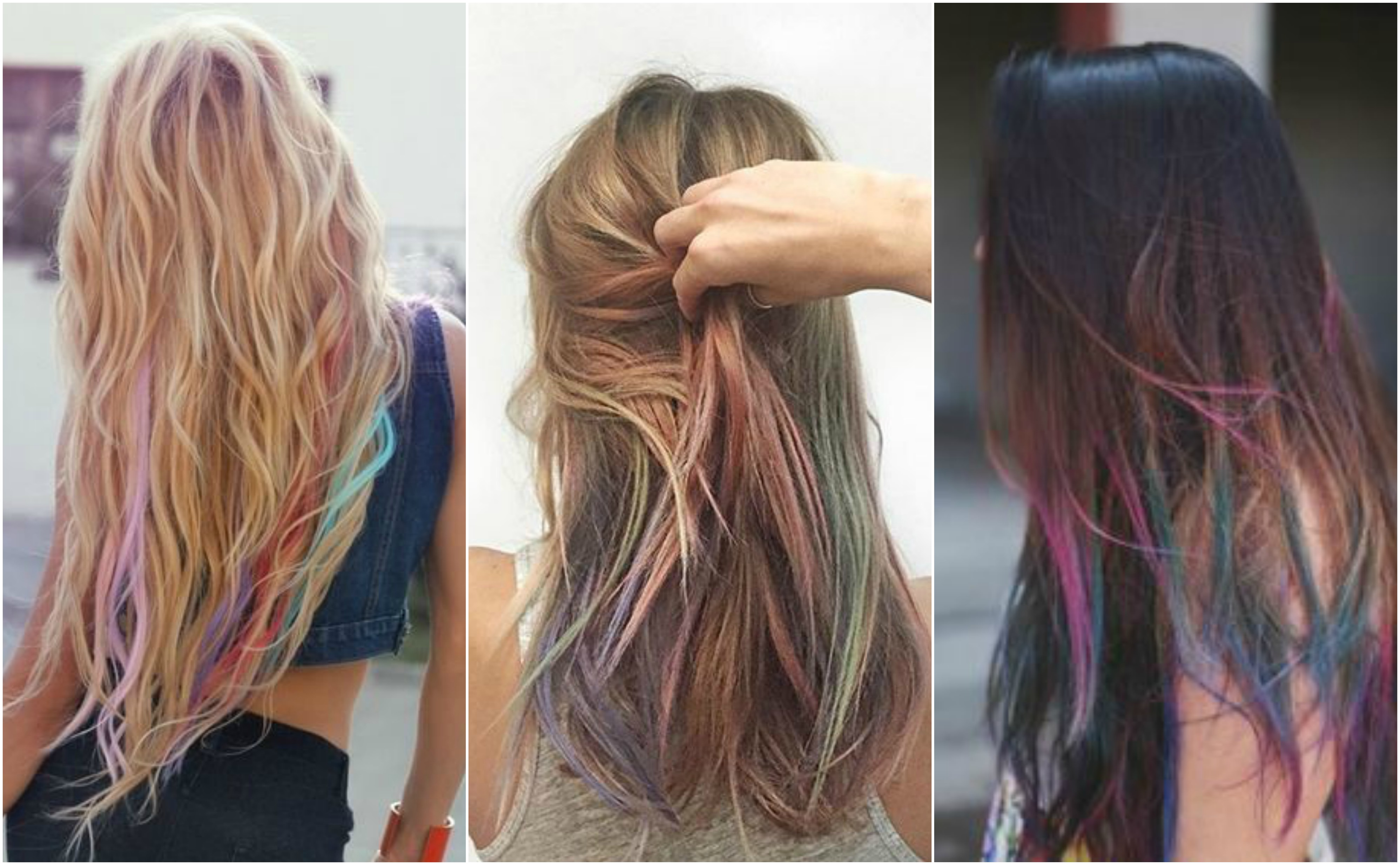 How to get subtle rainbow highlights