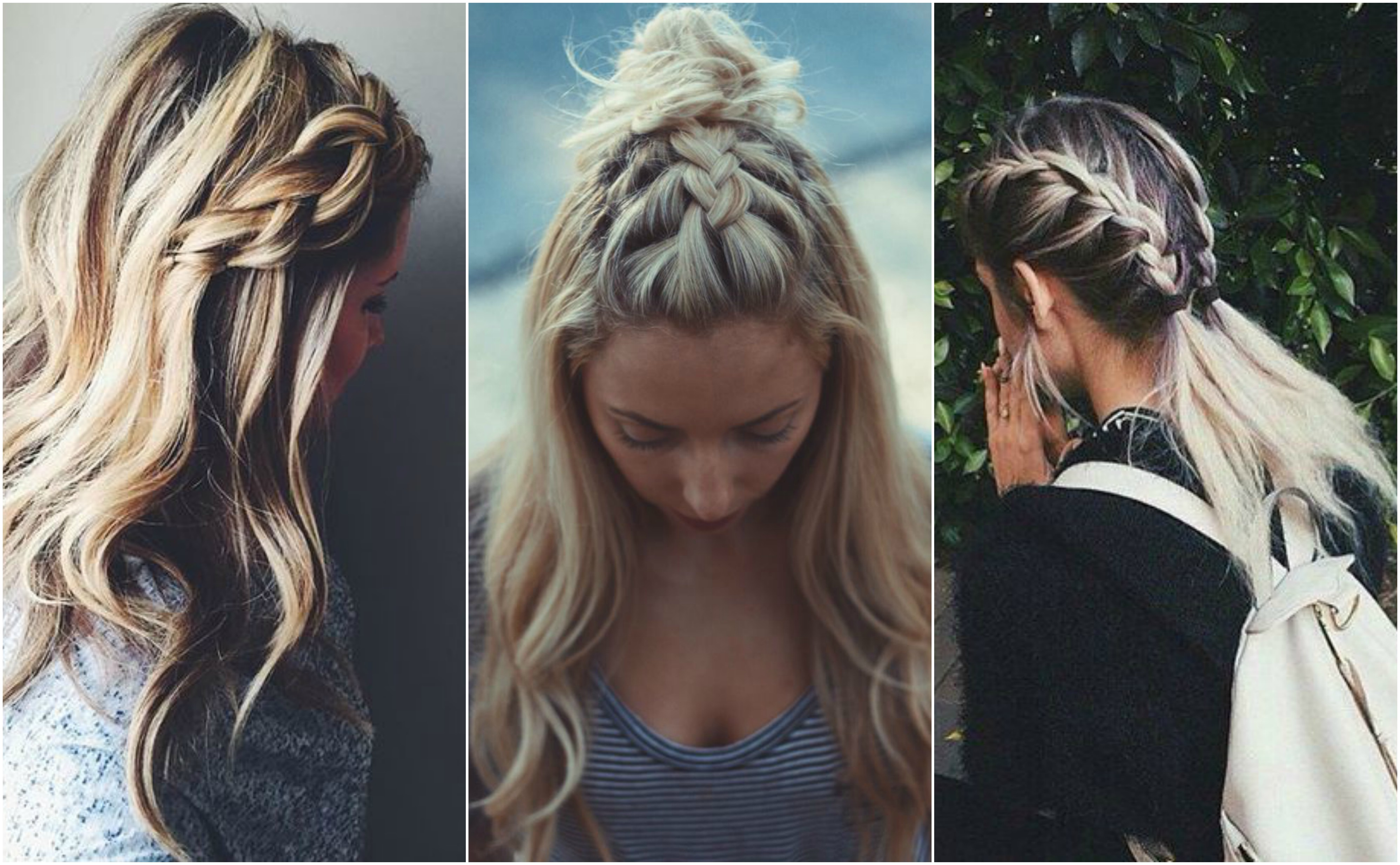 Statement braids that work on a bad hair day