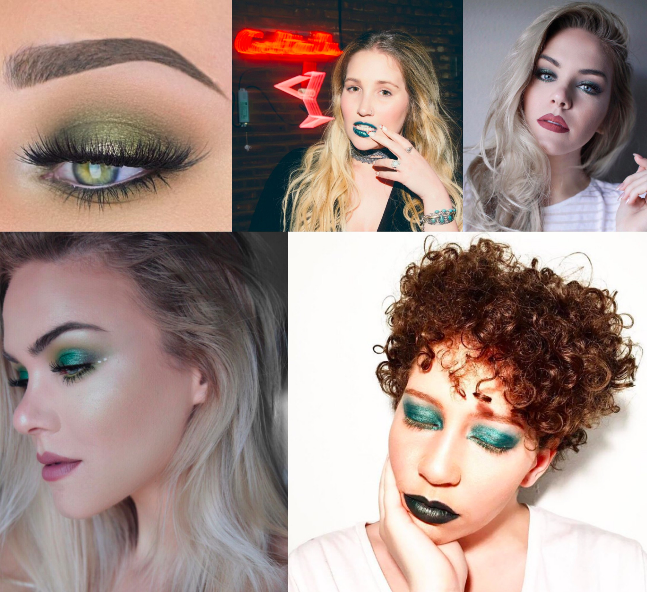 Move aside red! How to rock green makeup this holiday