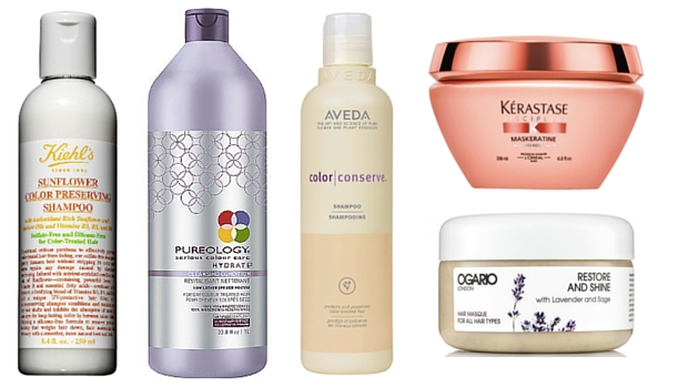 Our favorite products to keep processed hair healthy