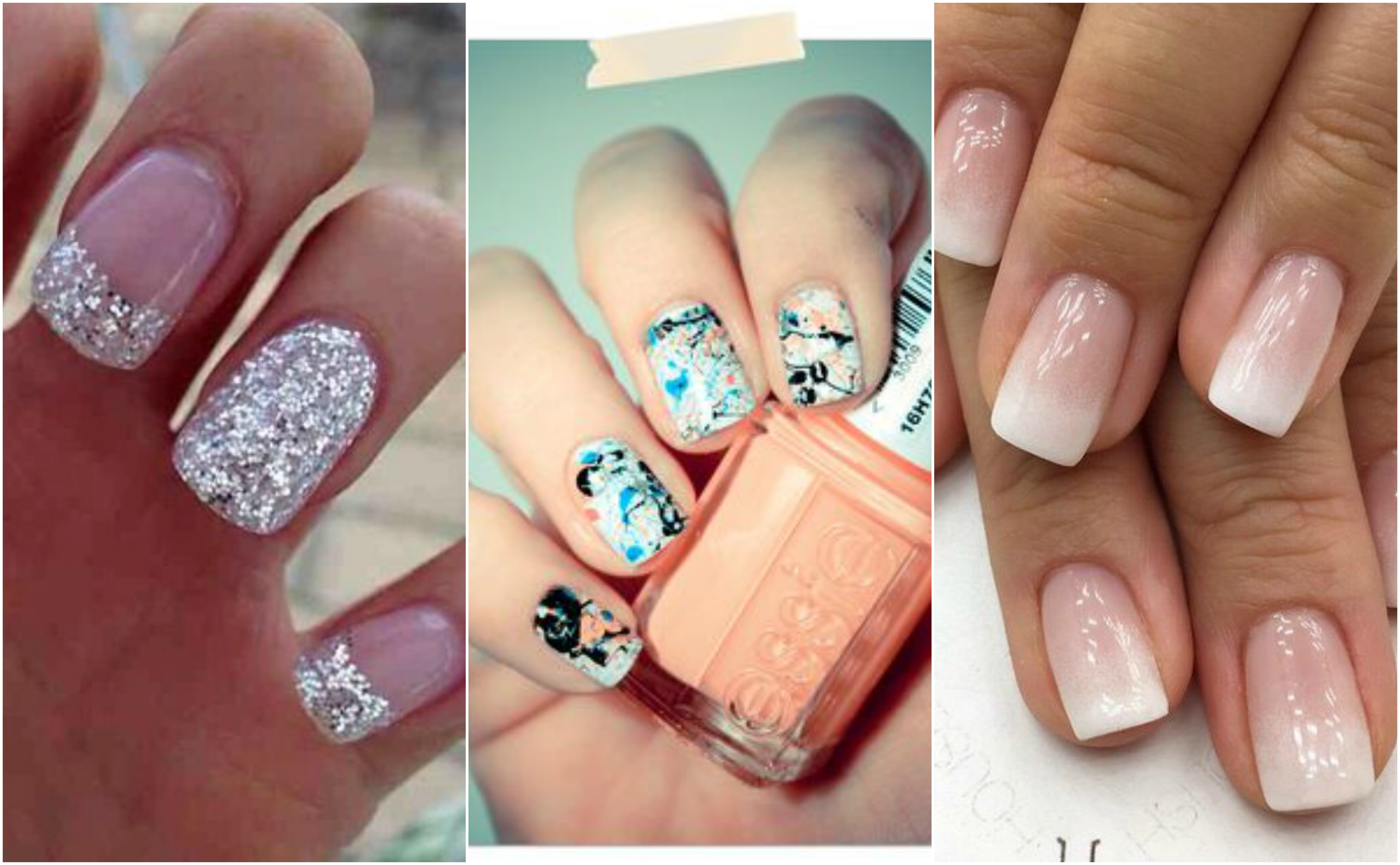 Creative Nail Design Posters: Acrylic nail posters polishes on ...