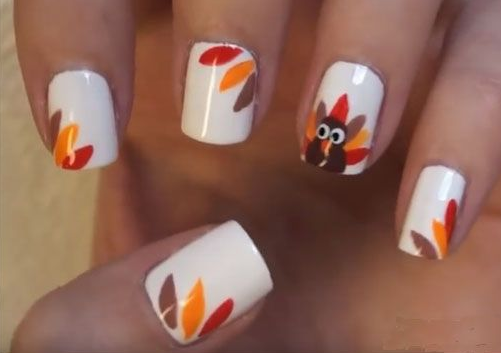 Thanksgiving Nail Art Ideas Dailybeautyhack