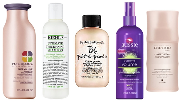 Our favorite products that give life to thin hair