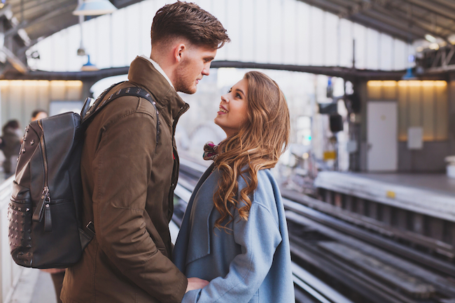 long-distance-relationship-couple-on-platform-at-the-train-station-meeting-or-parting-concept