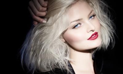 platinum, hair, closeup, blond, one, black, posing, elegant, woman, makeup, model, shot, studio, chic, caucasian, fashion, eyes, young, short, blue, stylish, beautiful, hairstyle