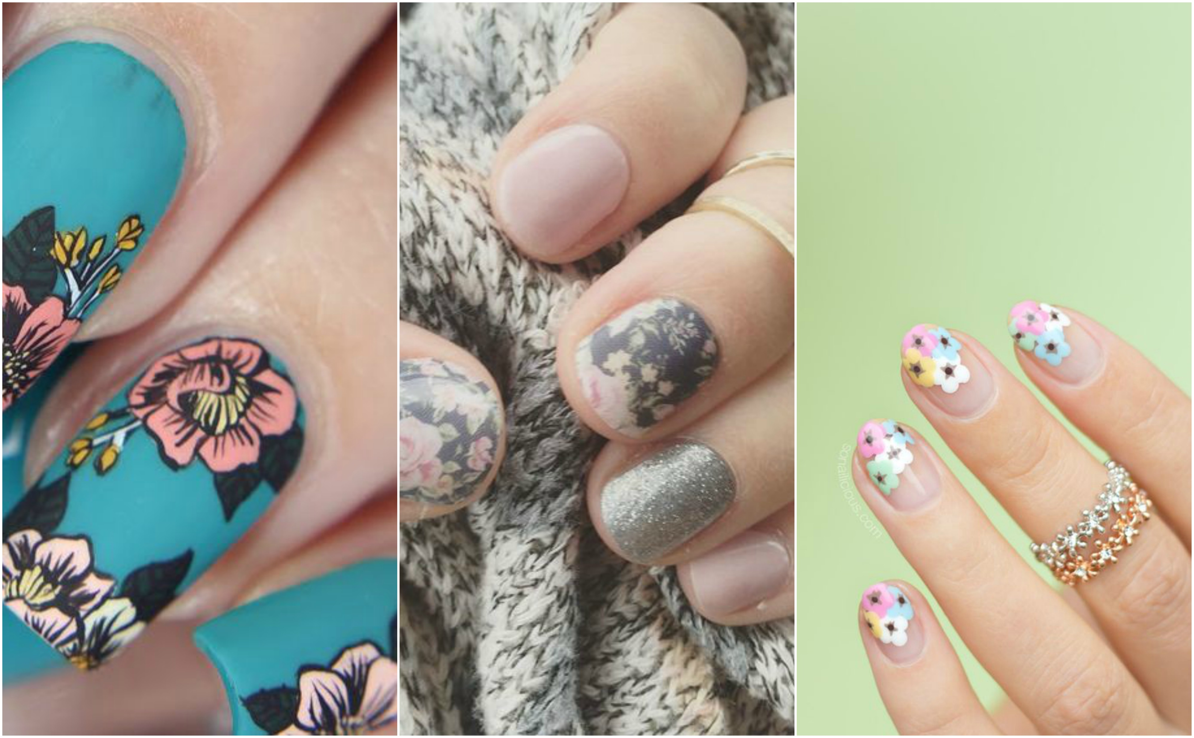 11 ways to rock floral nails year-round
