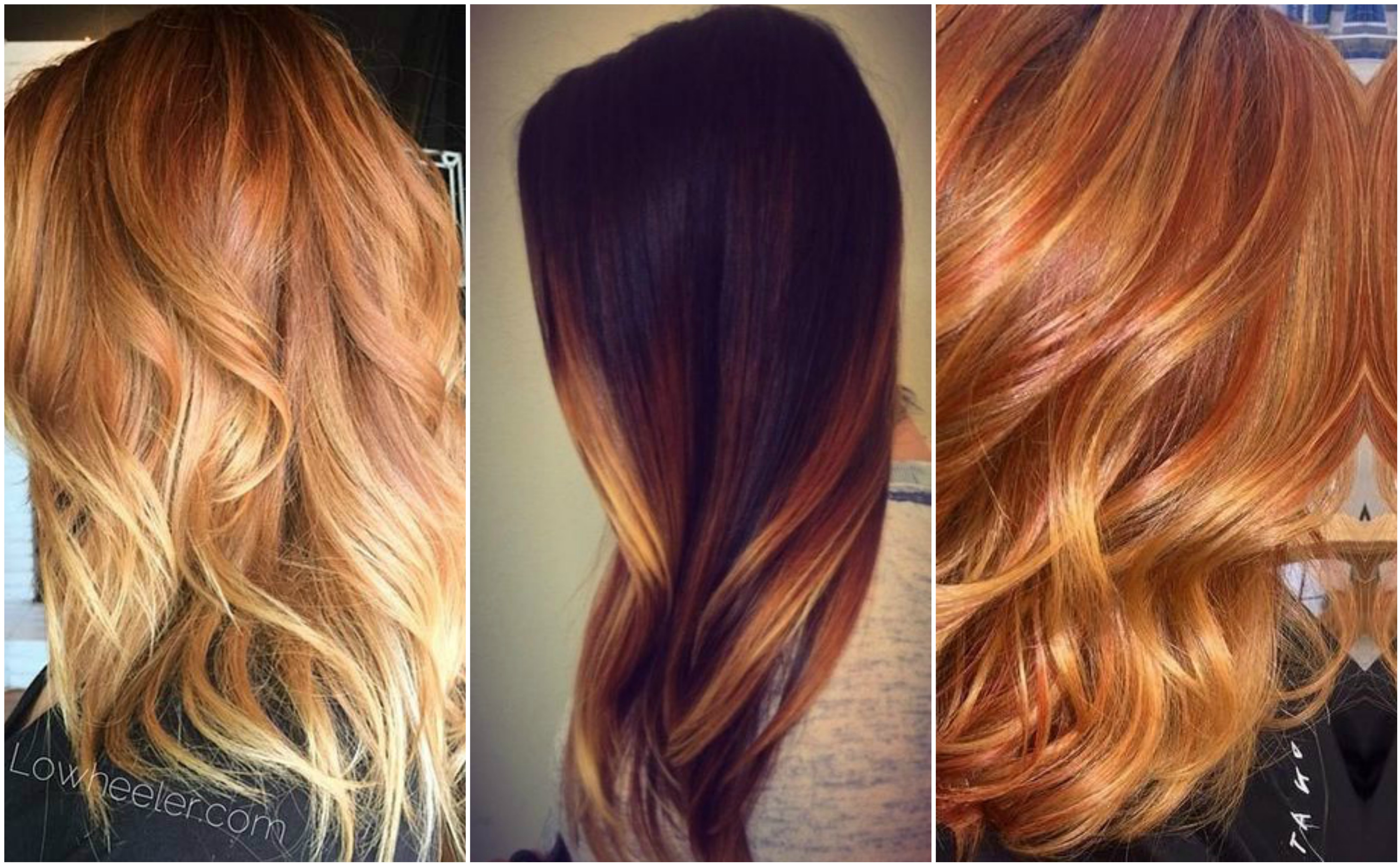 How to mix red and blonde highlights into the perfect look