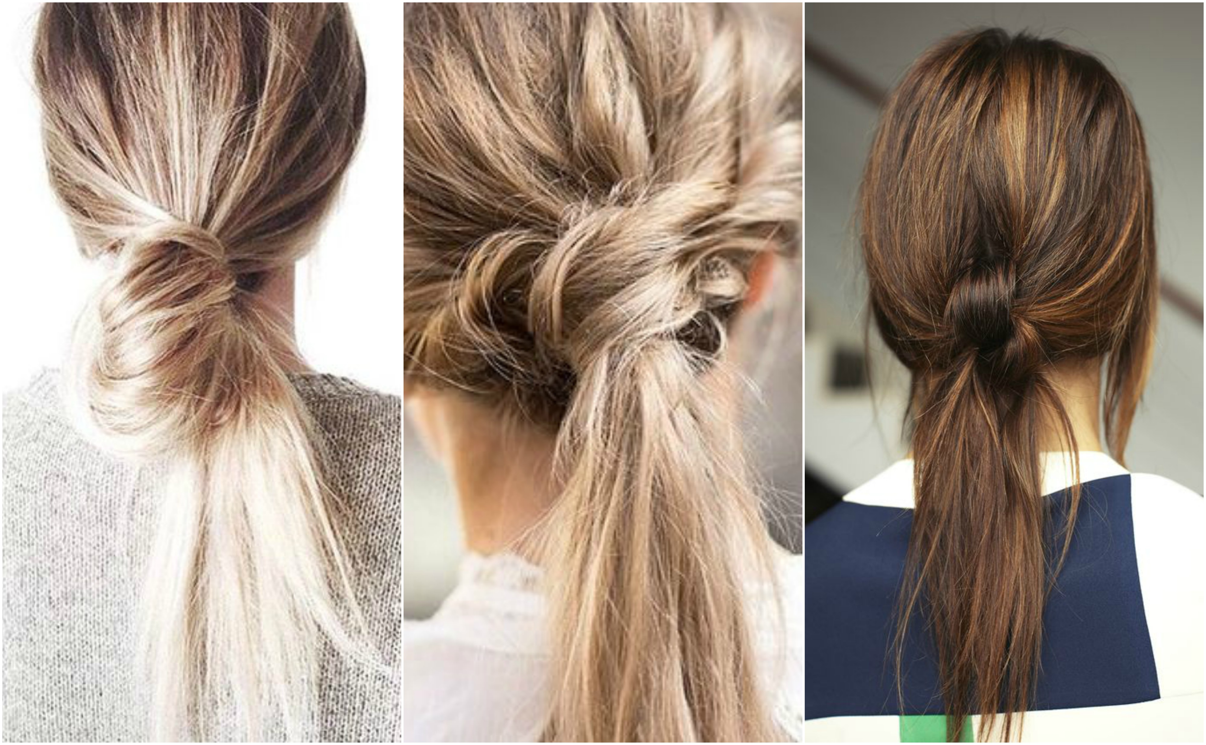 How to become a pro at knotted hairstyles