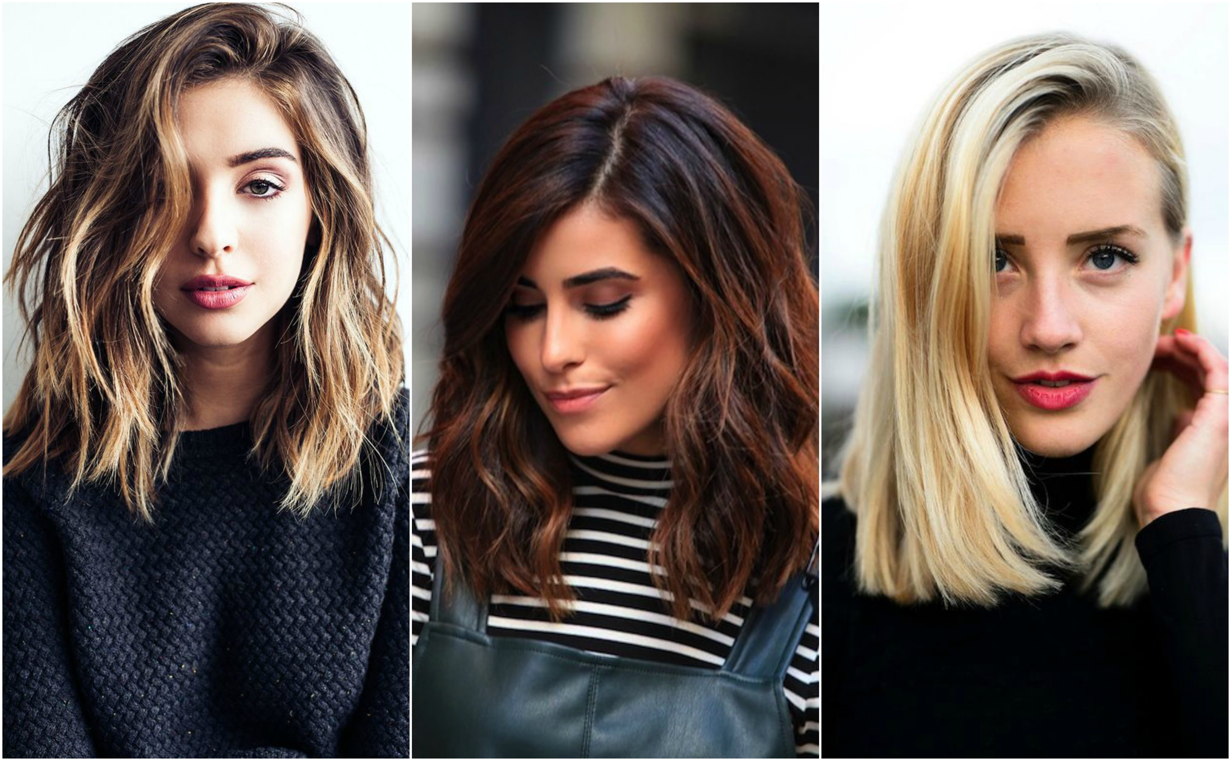 These lob haircuts will make your long-haired friends jealous