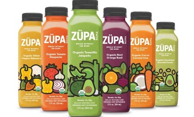 ZUPA NOMA drinkable soup assorted color and flavors bottles