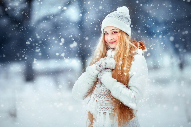 hat, hair, scarf, snow, cold, fun, adult, magic, glamour, xmas, people, female, season, fairytale, wonderful, wearing, girl, forest, face, woman, blonde, winter, closes, background, pretty, model, attractive, white, amazing, curly, clothes, holiday, enjoy, christmas, fashion, portrait, smile, knitted, young, having, blue, person, long, beauty, snowflakes, emotions, scene, beautiful, happy
