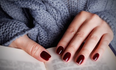 Beautiful painted nails for autumn