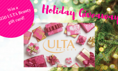 ulta beauty holiday giveaway gift card