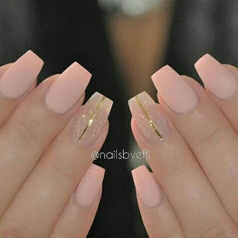 pastel matte nails