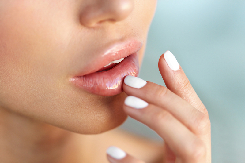 How to perfect the wet shimmery lip