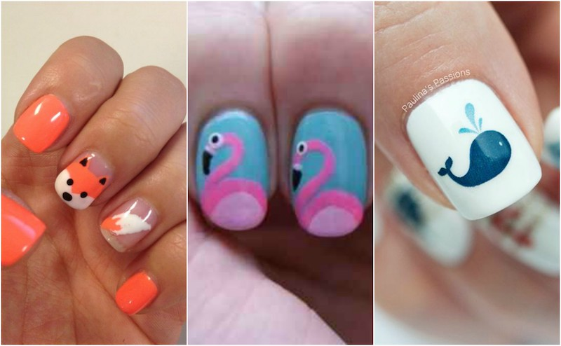 - 10 Ideas For Animal Nail Art