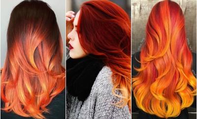 dancing flame hair color