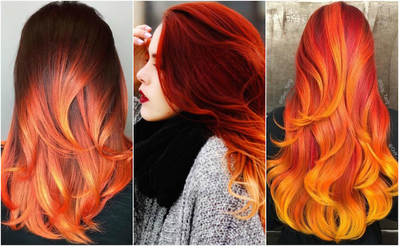 8 fire hair styles that will give you awesome fire hair