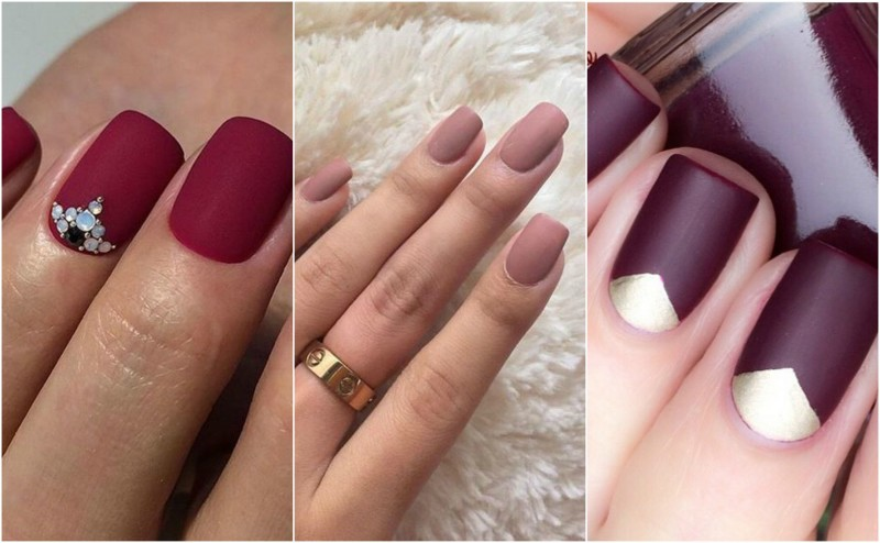 10 ways to wear matte nails