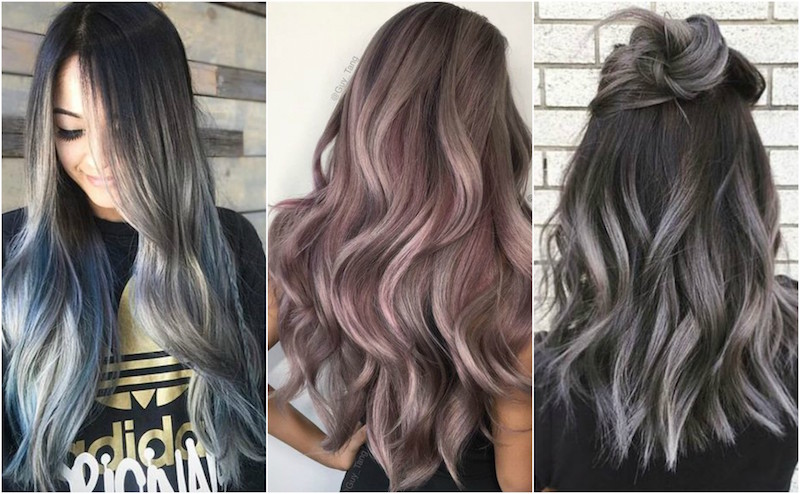 Were Obsessed With The Smoky Ombre Hair Trend Dailybeautyhack