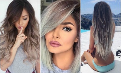 spring ombre and color melt hair colors