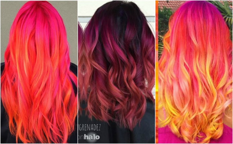How To Get Sunset Hair
