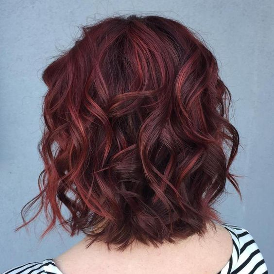 10 ways to wear burgundy hair