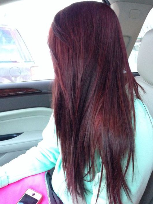 Burgundy hair: 17 ways to wear burgundy hair