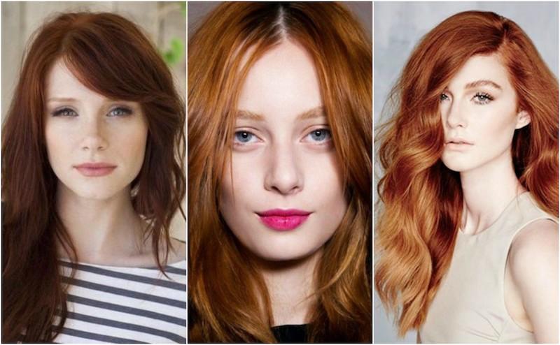 ronze hair