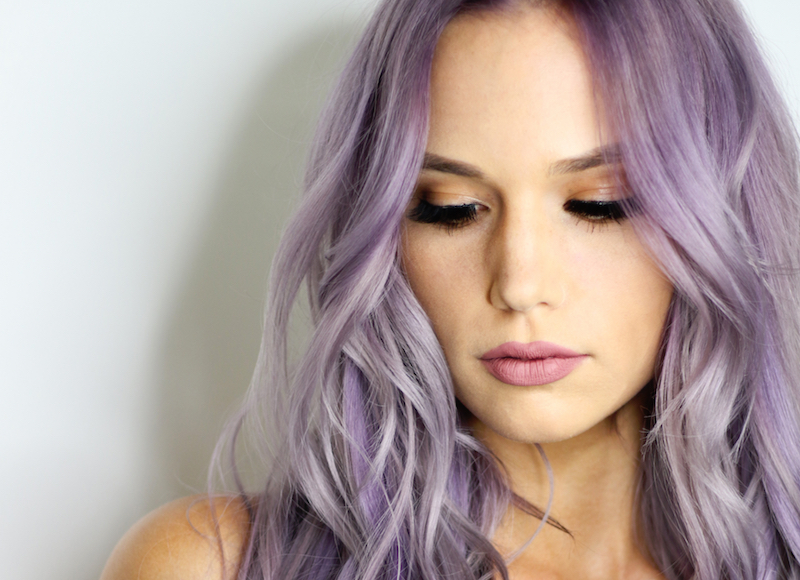 11 super subtle ways to wear lilac hair