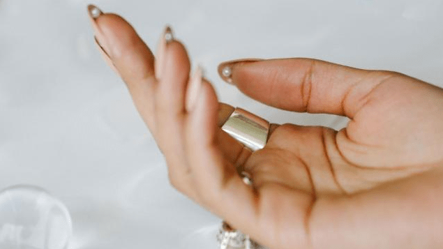 How to Do Hidden Pearl Nails