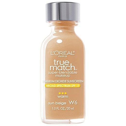 L'Oreal Paris True Match Super-Blendable Makeup