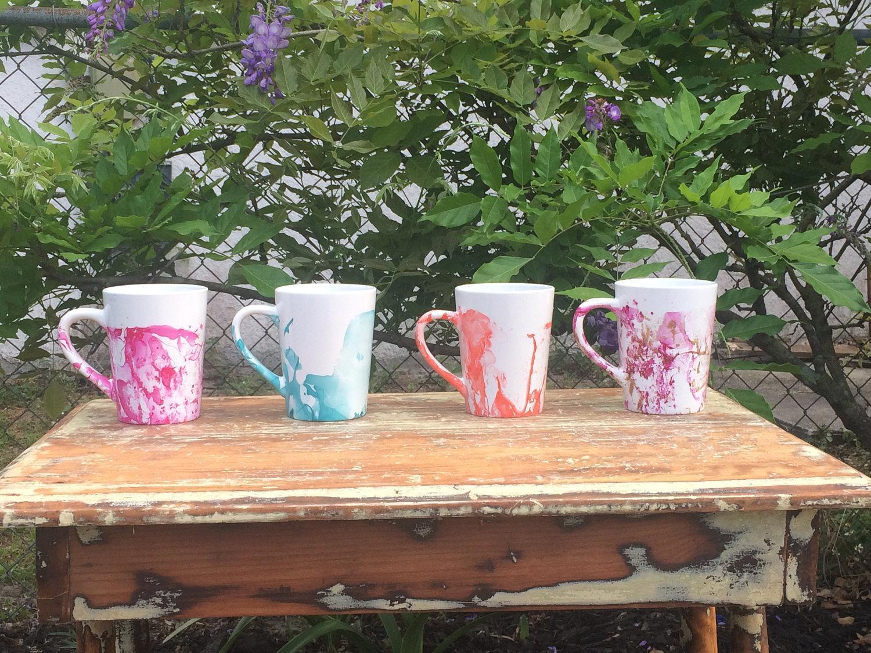 marble mugs etsy