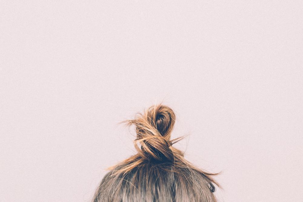 Buns for short hair