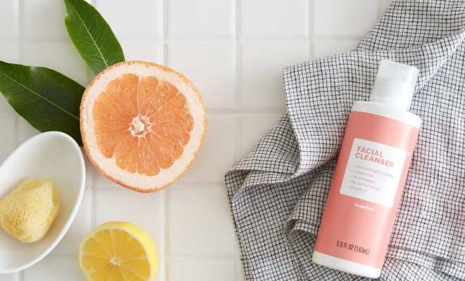 Grapefruit Facial Cleanser